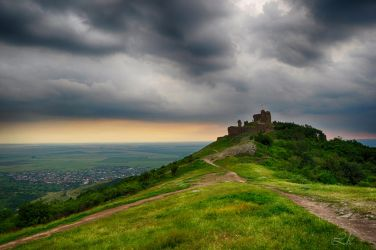 Citadel before storm by Lk-Photography