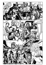Super heroes by BSarilar