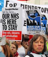 May 18th 2013 - Save the NHS: 25 by LouHartphotography