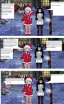 Mrs.Claus and Blake have a chat. by imyouknowwho