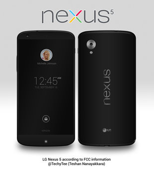Nexus 5 Render by teerox
