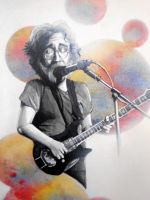 jerry garcia by drippyhippie