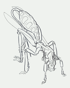 Ichneumon Walker (Rough) by attenuasis