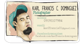 Karl Business Card