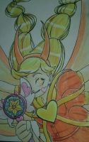 Golden Star by SoumaTheDoodler