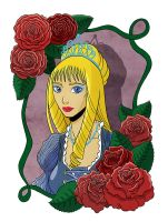 Queen of the roses by the-winter-girl