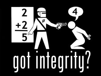got integrity? by AbecedarianJameson