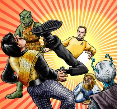 Kirk-Fu! by Loneanimator