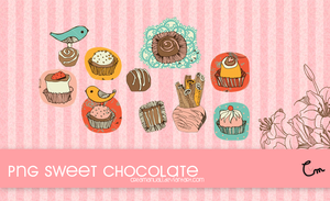 Png Sweet chocolate by creamanuali