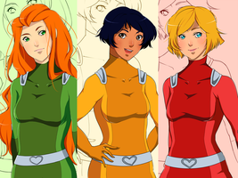 Like Totally Spies! by Paendo