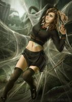 Hermione and Aragog (Part1) by NinjArt1st
