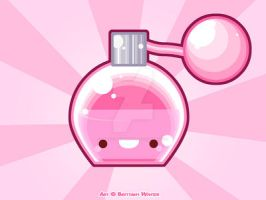 .:Purfume Bottle:. by PhantomCarnival
