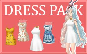 CDM PACk -Dress Pack by Yujanitzy