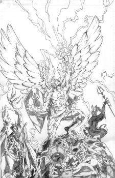 Promo pencils by Honored1