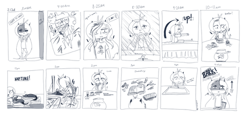 Hourly Comic Day by Shampoo-chan13