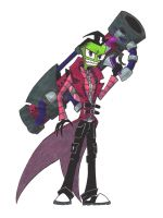 Life-Sized Zim in Costume by RagdollStiches