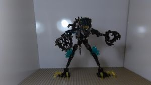 Storm Bike (Robot Mode) by sideshowOfMadness