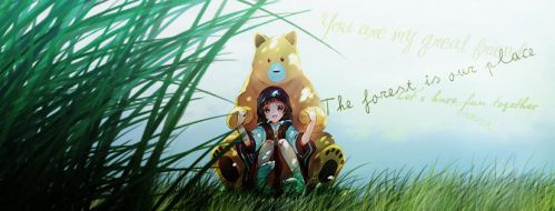 The forest is our place by RyuMiyuki00