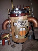 Aether Ale: Beer Barrel Jet Pack/Backpack by Haazardous