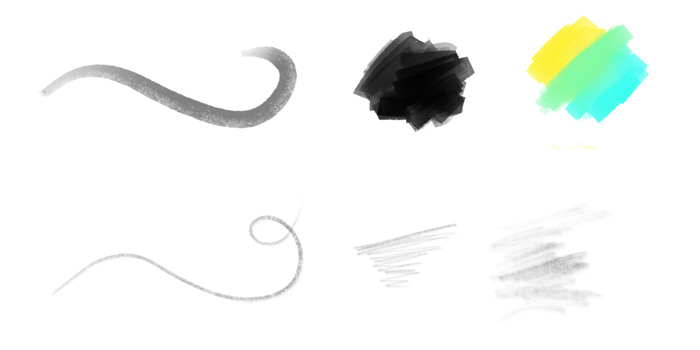 DAUB | Free Brushes for Manga Studio 5 by paololimoncelli
