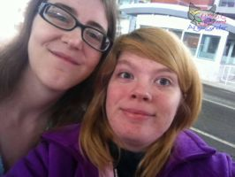 A picture of my best friend visiting me! =D by AngelCnderDream14