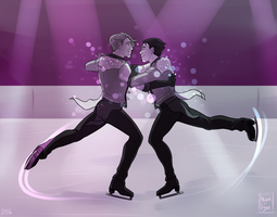 Stay Close to Me - YOI by Alison-lynn