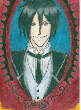 Simply One Hell of a Sketchcard by SenSparda18