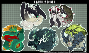 2018 April Adopts [1/5 OPEN] by Cicada-King