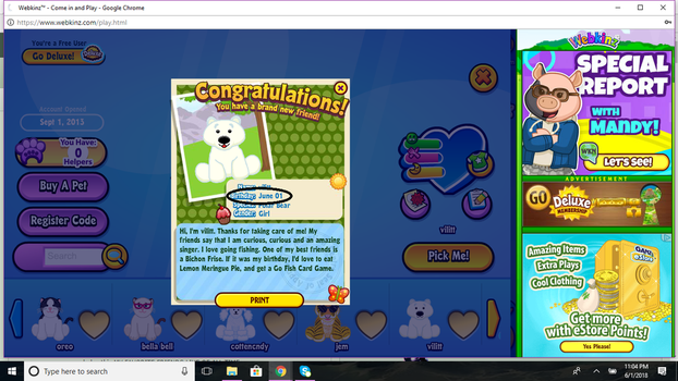 when you log on webkinz after five years lol by bellablossomyoutube