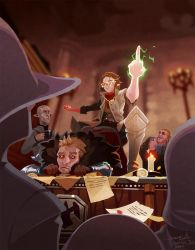 Dragon Age: Inq - Like Everyone is Watching by Malakym