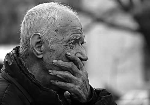 Old man by MaraDamian