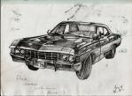 Chevrolet Impala 1967 by BlazeLaiberman