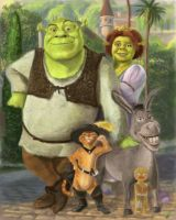 shrek by artelo