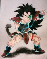 Dragon Ball Z - Raditz by JCRR3001