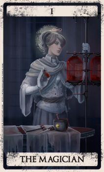 Bloodborne tarot I by Wingless-sselgniW