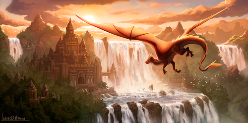 Dragon City by AM-Markussen