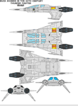 buck roger ThunderFighter Quad by bagera3005