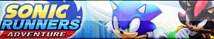 Sonic Runners Adventure Button by TBalazs2000