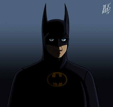 Keaton Batman by AraghenXD