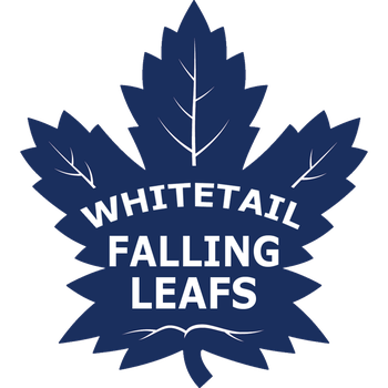 Whitetail Falling Leafs by LyraHeartstrngs