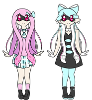 Splatoon ~ Rockelle Shifuroa Ref by rockythebunny13
