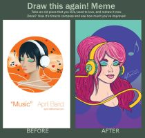 Music Before and After by aprilmdesigns