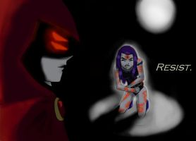 Teen Titans- Resist by limey404