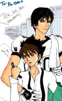 For KL-chan: ShinSena Love by mousey-buu