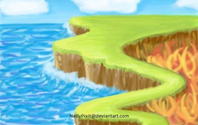four elements-island by NellyPixit