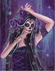 Dance of death day of the dead by Renee L Lavoie by Fairylover17