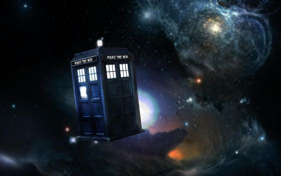 Tardis In Space by Locozee