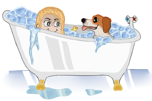 A bath by Kuuurek