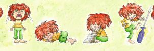 Pumuckl Line-up by Tabascofanatikerin