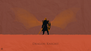Dragon Knight Dota 2 Wallpaper by css101